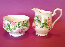Royal Albert Sugar Bowl And Cream Pitcher - Evesham - Bone China England