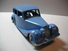 Dinky #40B Triumph 1800 Saloon Car 1949-54 Frame-off Restored/Rare Baseplate