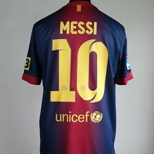 Barcelona Home Football Shirt Adult Large MESSI #10 2012/2013