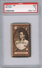 1912 Imperial Tobacco C46 Baseball Card Carl Sitton Montreal Graded PSA 5