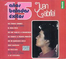 Juan Gabriel 15 Anos De Baladas Exitos Caja De Carton CD New Nuevo sealed