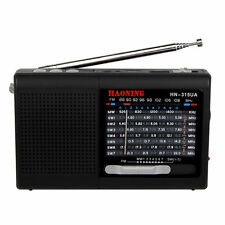 Pocket FM/MW/SW Radio World Band Receiver MP3 Music Player English manual Best