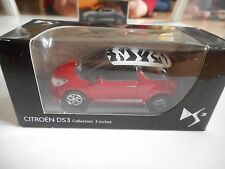 Norev Citroen DS3 in Red on 1:64 in Box