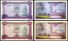 !COPY! 2 MALAYSIA RM1000 1000$ SA-RIBU RINGGIT BANKNOTES !NOT REAL!