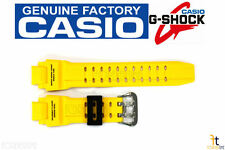 CASIO GA-1000-9BV G-Shock Original Yellow Rubber Watch BAND Strap GA-1000