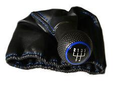 VW Polo 6N Golf 3 Lupo  Beetle  Schaltknauf  Schaltsack Schaltmanschette blau