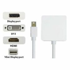 MINI DP Thunderbolt a HDMI DVI DP Adattatore 3 in 1 per Microsoft Surface Pro 3 2