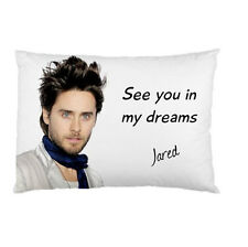 JARED LETO See you in my dreams bed pillow cushion case 95038305