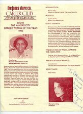 Sherry Lansing Paramount Pictures CEO 1st Women To Head A Studio Signed Program