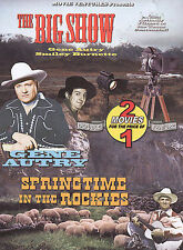 The Big Show/Springtime In The Rockies (DVD, 2004)