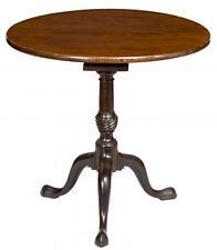 SWC-Tilt-top Table w/ Birdcage, Newport, c.1760-80