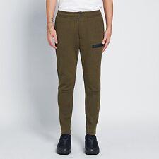 Nike NSW Tech Fleece Pants - LARGE - 805218-330 Heather Olive Black Jogger Army