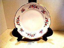 """216  Walbrzych China Poland Bread and Butter Plate """"Fieldflowers"""" pattern."""