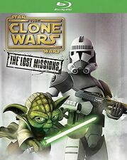 STAR WARS CLONE WARS :THE LOST MISSIONS -  Blu Ray - Sealed Region free