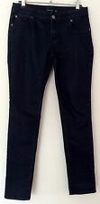 PORTMANS Ladies Casual Dark Blue Slim Skinny Leg Jeans Pant Size 8