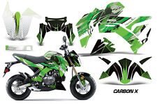 AMR Racing Kawasaki Z125 PRO Graphic Kit Dirt Bike Decals MX Wrap 2017 CARBONX G