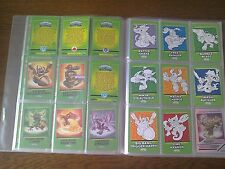 Topps Skylanders Swap Force Trading CardsFULL SET OF 321 CARDS  in CLEAR  binder