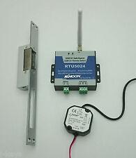 Mobilfunk-Zutrittskontroll-Set RTU5024 für hohe Sicherheit (+Netzteil+Türöffner)
