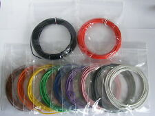 28m 16/0.2mm Equipment Wire Pack - 20 AWG* - 11 Colours - Stranded - 3A 1kV rms