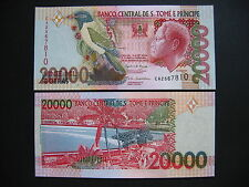 SAINT THOMAS AND PRINCE  20000 Dobras 26.8.2004  (P67b)  UNC