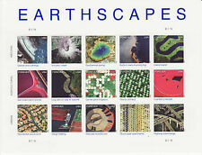 EARTHSCAPES STAMP SHEET -- USA #4710(A-O) FOREVER 2012 15 UNIQUE STAMPS