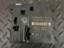 2004 MERCEDES E270 CDI W211 DRIVERS SIDE DOOR MODULE 2118201626
