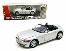 MOTOR MAX 1:18 Die-Cast BMW Z4 Diecast Car Model 73144 Silver