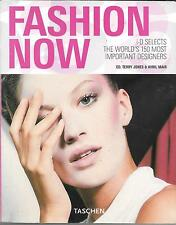 FASHION NOW SOFTCOVER BOOK (FN/VF) 150 MOST IMPORTANT DESIGNERS, ENGLISH ED.