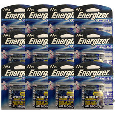 48 Energizer Ultimate Lithium AA Batteries L91BP, (12 x 4 Packs) Exp 12/2036