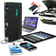 Multi-Function Car Vehicle Jump Starter SOS Lights Laptop SmartPhone Power Bank