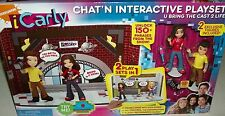 icarly Miranda Cosgrove Chat'N Interactive Playset Jennette McCurty Nathan Kress