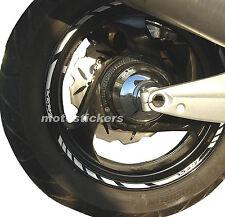 Adesivi Ruote - Kit adesivi racing YAMAHA TMAX - cerchi da 14 pollici