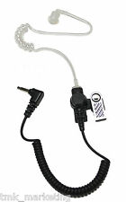 Acoustic Tube Listen-only Earpiece, 3.5mm right angle MONO plug