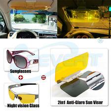 HD Car auto Anti-glare Glass Goggles Mirror Sun Visor Pad for Day Night Driving