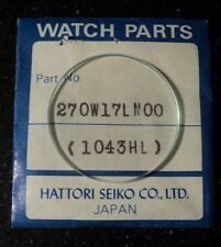 Genuine Seiko watch crystal, 270W17LN.  A829-6000, 6010, 6020.     K461