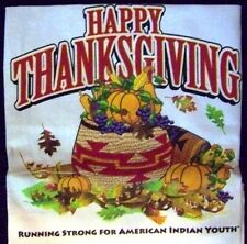 THANKSGIVING APRON 2014 - BILLY MILLS RUNNING STRONG FOR AMERICAN INDIAN YOUTH