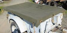 M100 Trailer Canvas Cover w/ Rope Kit 1 DAY HANDLING!!!