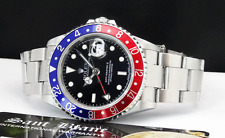 "ROLEX - 16710 Stainless Steel GMT Master II PEPSI Bezel ""No Holes"" - SANT BLANC"