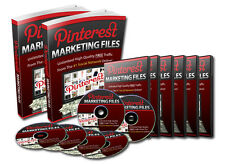 Pinterest Marketing Website Traffic Advertising Resell Rights PLR PDF eBooks Vid