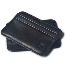 Slim Credit Card Holder Mini Wallet ID Case Purse Bag Pouch Black