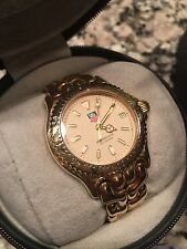 Tag Heuer Luxury WG Midsize Unisex  S94.013 18K Gold & St.Steel Watch + Box Case