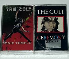 "THE CULT SEALED TAPE CASSETTE 2 Sonic Temple Ceremony Rock metal indie lp 12"" cd"