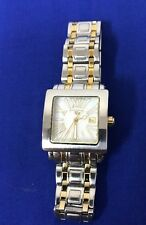 Swiss Legend Women's Watch Gold Square MOP Roman Numeral Dial (5I)