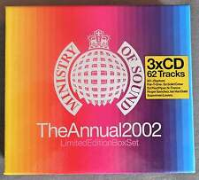 MINISTRY OF SOUND: THE ANNUAL 2002 - VARIOUS ARTISTS ** LTD EDITION 3 CD BOXSET