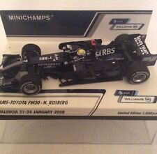 Minichamps 1.43 Scale Williams Toyota FW30  Nico Rosberg Test 2008.