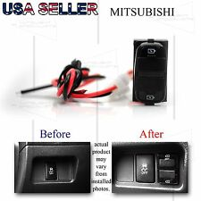 FOR MITSUBISHI ECLIPSE/OUTLANDER DUAL USB POWER ADAPTER 12V DIRECT PNP UPGRADE