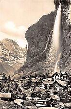BR47744 Lauterbrunnen mit staubach      Switzerland