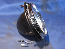 """JAGUAR DAIMLER 7"""" HEADLAMP BOWL & INNER RIMS KIT MK 2 V8 XJ6 XJ12 S-TYPE HLB1COM"""