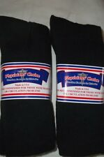 Physicians Choice Diabetic 13-15-Black-Crew  Cushioned Socks 12-pr.