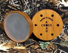 Hand-turned Cherry Crystal Friction Turkey Call w/ Striker CLOSE OUT PRICES